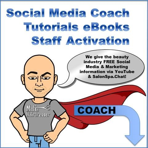 social Media coach salons and spas 1