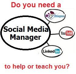 Let a Social Media Manager help you