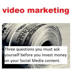 3 questions you should ask befor you invest in social media content