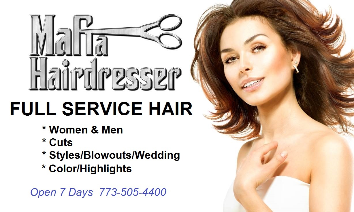 Mafia Hairdresser Chicago Salon Services