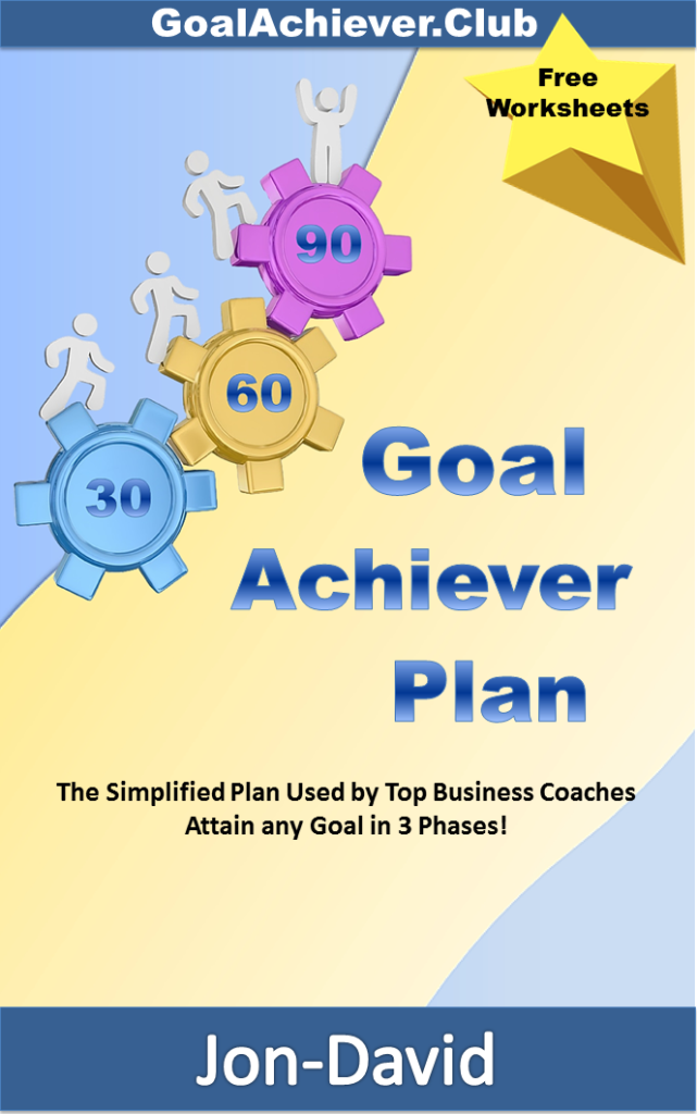 Goal Achiever Plan Kindle