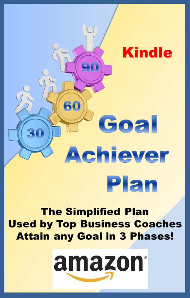 Goal Achiever Plan Kindle Website Graphic