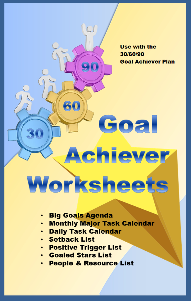 Goal Achiever Worksheets Website Graphic