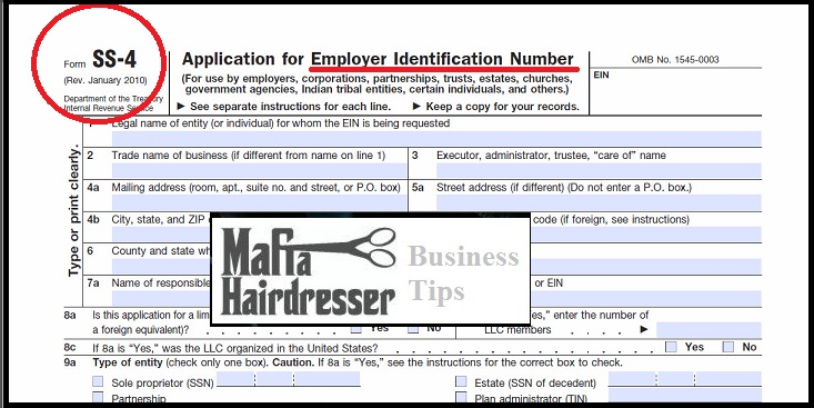 What does a tax id number look like